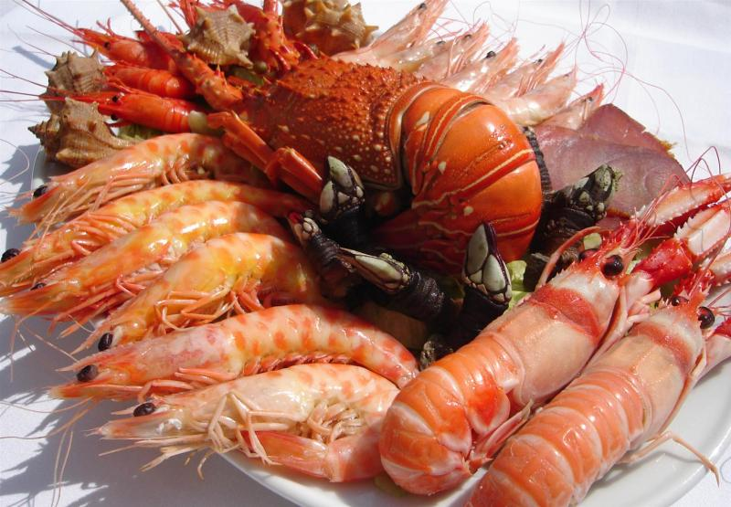 Mariscos barriott ristorante lounge for Canelones de pescado y marisco